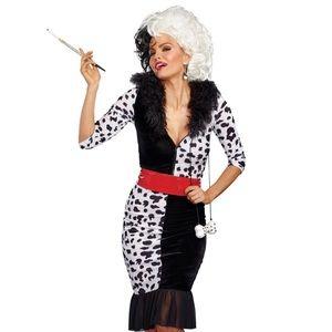 Dalmatian Diva Halloween Costume